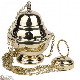 Encensoir en cuivre avec chaine