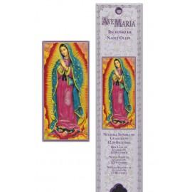 Pochette encens - Notre Dame de la Guadeloupe  - 15 pces